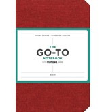 THE GO-TO NOTEBOOK WITH MOHAWK PAPER BLANK RED
