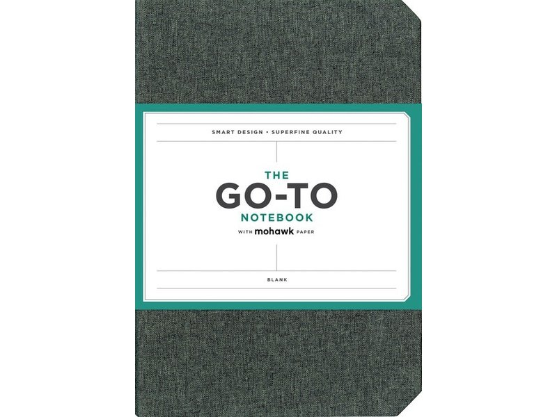 THE GO-TO NOTEBOOK WITH MOHAWK PAPER BLANK CHARCOAL