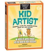 KID ARTIST MAGNETIC WORDS FOR ART AND POEMS KIT