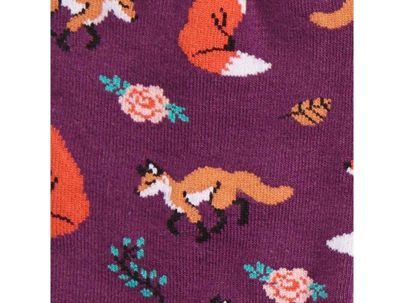 THINKPLAY SOCK IT TO ME: WOMENS CREW SOCKS - FOX TROT