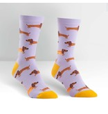 THINKPLAY SOCK IT TO ME: WOMENS CREW SOCKS - HOT DOGS
