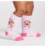 THINKPLAY SOCK IT TO ME: TODDLER KNEE HIGH SOCKS - SNACKIN' SLOTH