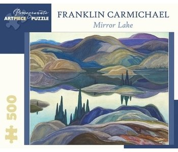 POMEGRANATE ARTPIECE PUZZLE 500 PIECE: FRANKLIN CARMICHAEL MIRROR LAKE