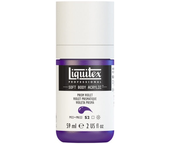 LIQUITEX SOFT BODY ACRYLIC  59ML PRISM VIOLET