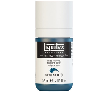 LIQUITEX SOFT BODY ACRYLIC  59ML MUTED TURQUSE