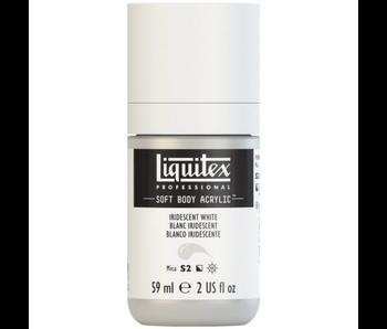 LIQUITEX SOFT BODY ACRYLIC  59ML IRID WHITE