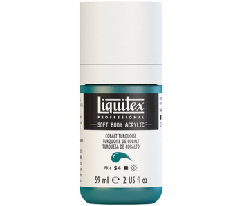 LIQUITEX SOFT BODY ACRYLIC  59ML COBALT TURQUS