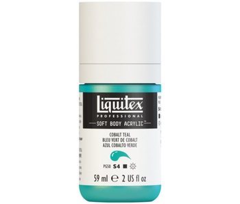 LIQUITEX SOFT BODY ACRYLIC  59ML COBALT TEAL