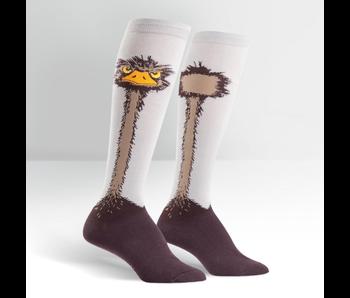 SOCK IT TO ME: KNEE HIGH SOCKS - OSTRICH