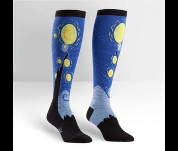 SOCK IT TO ME: KNEE HIGH SOCKS - STARRY NIGHT