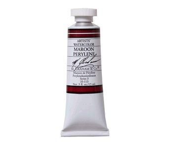 M. GRAHAM WATERCOLOUR 15ML MAROON PERYLENE