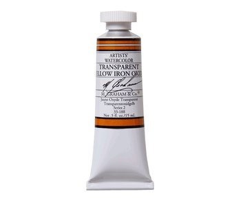 M. GRAHAM WATERCOLOUR 15ML TRANSPARENT YELLOW IRON OXIDE