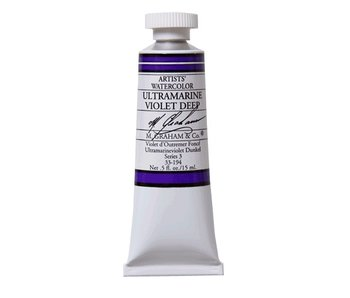 M. GRAHAM WATERCOLOUR 15ML ULTRAMARINE VIOLET DEEP