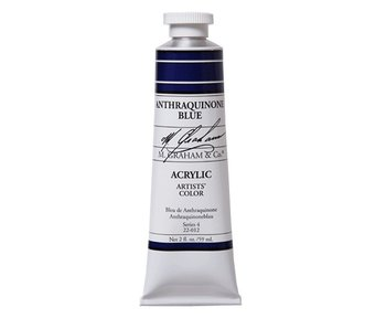 M. GRAHAM ARTISTS ACRYLIC 2OZ ANTHRAQUINONE BLUE