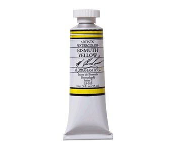 M. GRAHAM WATERCOLOUR 15ML BISMUTH YELLOW