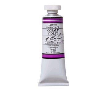 M. GRAHAM WATERCOLOUR 15ML COBALT VIOLET