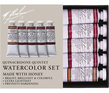 M. GRAHAM 5PK SET: QUINACRIDONE QUINTET WATERCLOUR