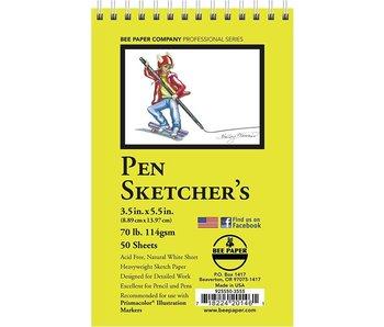 BEE PAPER PEN SKETCHER'S PAD 3.5x5.5