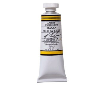 M. GRAHAM WATERCOLOUR 15ML HANSA YELLOW DEEP