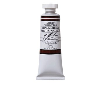 M. GRAHAM WATERCOLOUR 15ML TRANSPARENT RED IRON OXIDE