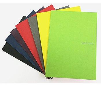 Fabriano Ecoqua Dot Grid Pad Gl 6X8 A5 Black