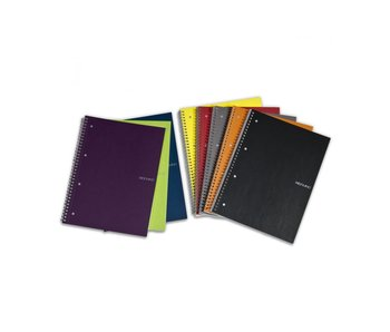 FABRIANO ECOQUA NOTEBOOK SP 6x8 BLANK A5 BLACK
