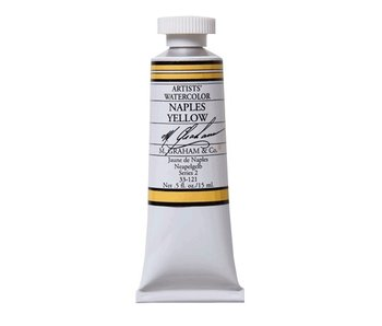 M. GRAHAM WATERCOLOUR 15ML NAPLES YELLOW