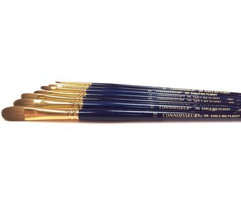 Connoisseur Sable Mix Lh Brush Filbert #8