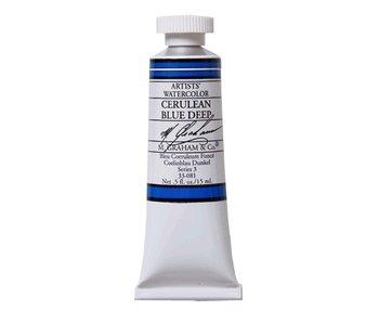 M. GRAHAM WATERCOLOUR 15ML CERULEAN BLUE DEEP