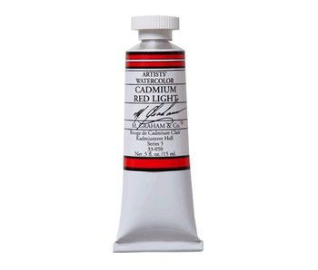 M. GRAHAM WATERCOLOUR 15ML CADMIUM RED LIGHT