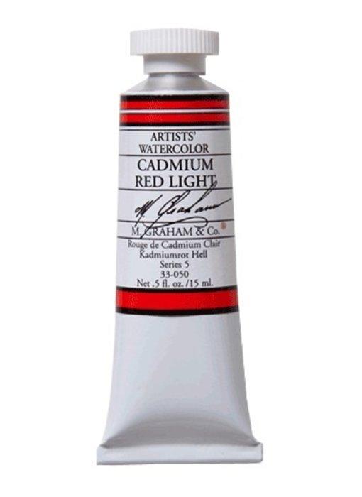 M. GRAHAM WATERCOLOUR 15ML CADMIUM RED LIGHT