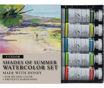 M. GRAHAM 5PK SET: SHADES OF SUMMER WATERCLOUR
