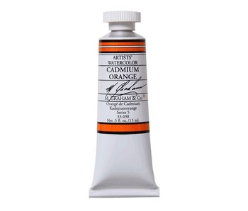 M. GRAHAM WATERCOLOUR 15ML CADMIUM ORANGE