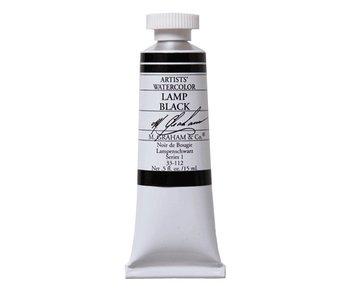 M. GRAHAM WATERCOLOUR 15ML LAMP BLACK