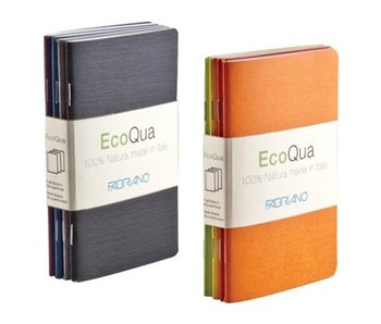 Fabriano Ecoqua Notepad Blank 4Pk Set 3.5X5.5 Cool