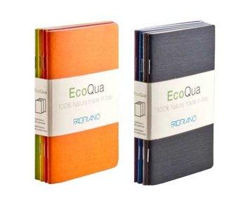 Fabriano Ecoqua Notepad Blank 4Pk Set 3.5X5.5 Warm