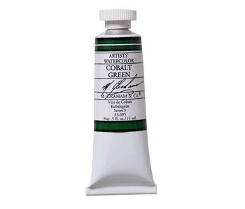 M. GRAHAM WATERCOLOUR 15ML COBALT GREEN