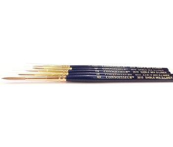 Connoisseur Sable Mix Brush Script Liner #4