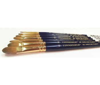 CONNOISSEUR SABLE MIX BRUSH FILBERT #12