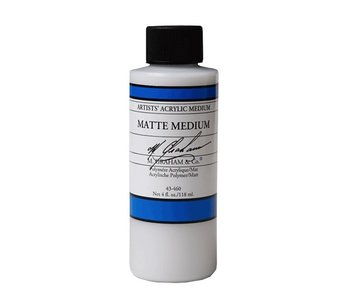 M. GRAHAM ACRYLIC MATTE MEDIUM 4OZ