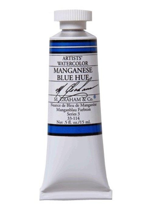 M. GRAHAM WATERCOLOUR 15ML MANGANESE BLUE HUE