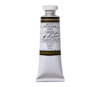 M. GRAHAM WATERCOLOUR 15ML AZO GREEN