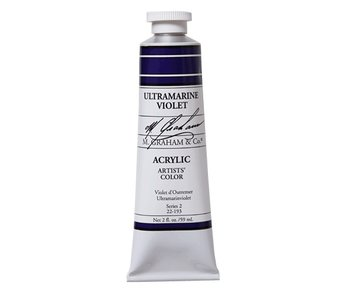 M. GRAHAM ARTISTS ACRYLIC 2OZ ULTRAMARINE VIOLET