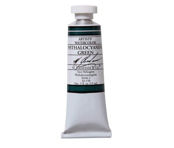 M. GRAHAM WATERCOLOUR 15ML PHTHALOCYANINE GREEN