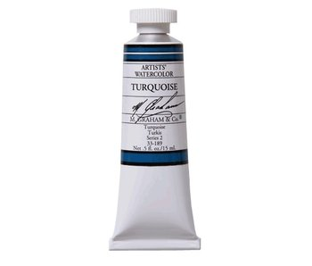 M. GRAHAM WATERCOLOUR 15ML TURQUOISE