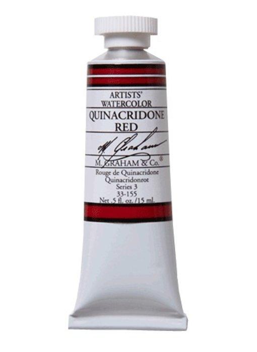 M. GRAHAM WATERCOLOUR 15ML QUINACRIDONE RED