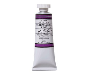 M. GRAHAM WATERCOLOUR 15ML ULTRAMARINE PINK