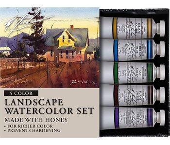 M. GRAHAM 5PK SET: LANDSCAPE WATERCOLOUR