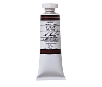 M. GRAHAM WATERCOLOUR 15ML BURNT UMBER