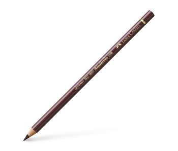 FABER CASTELL POLYCHROMOS COLOURED PENCIL VAN-DYCK-BROWN
